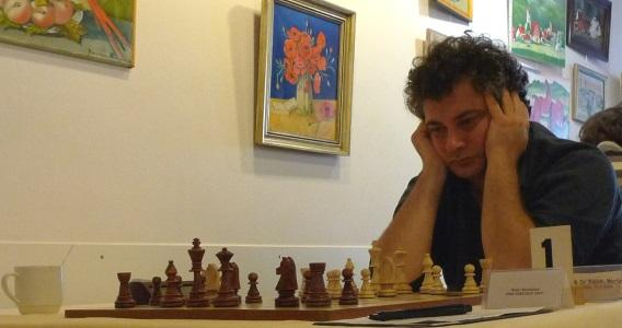Road to the Grandmaster title - Game 28 - Combination in the Colle system