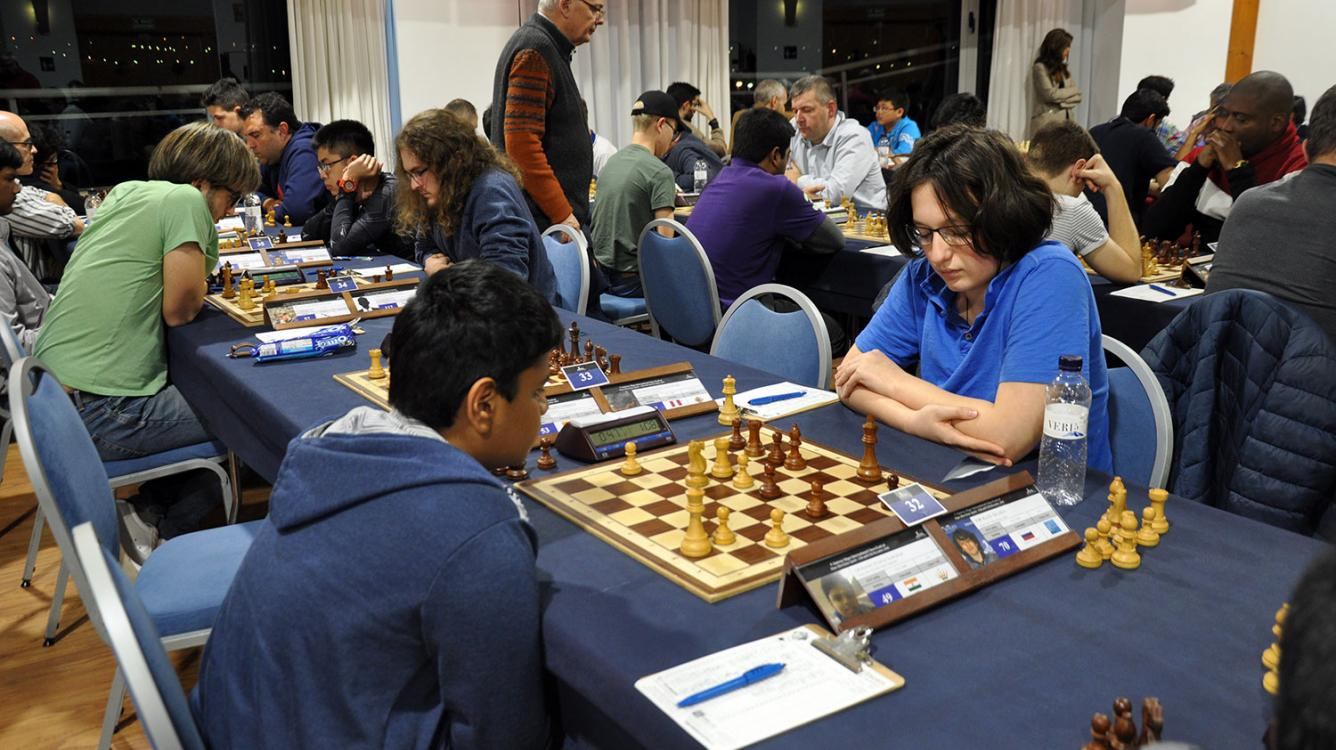 Road to the Grandmaster title - Victory against the Reti
