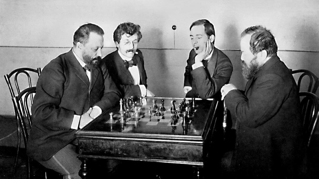 Mikhail Chigorin, the lover of chess problems #2