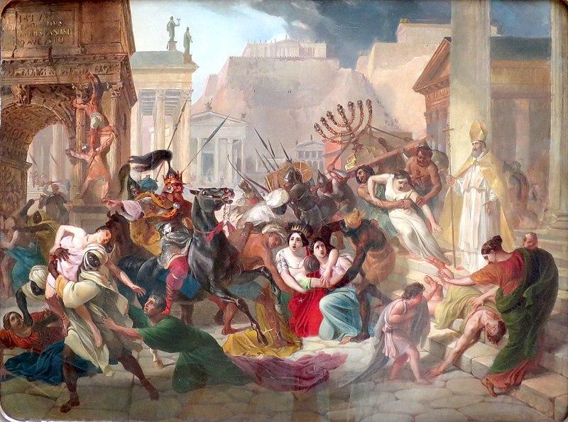 El saqueo de Roma (Magistrale de Roma, 1989)