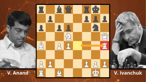 Best Chess Games: Anand's Incredible Exchange Sac - Anand vs. Ivanchuk, 1996