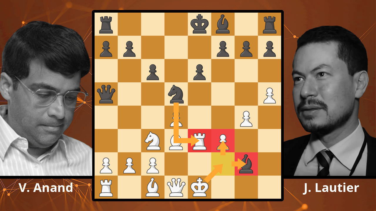 Best Chess Games: Anand's Most Spectacular Move? - Anand vs. Lautier, 1997