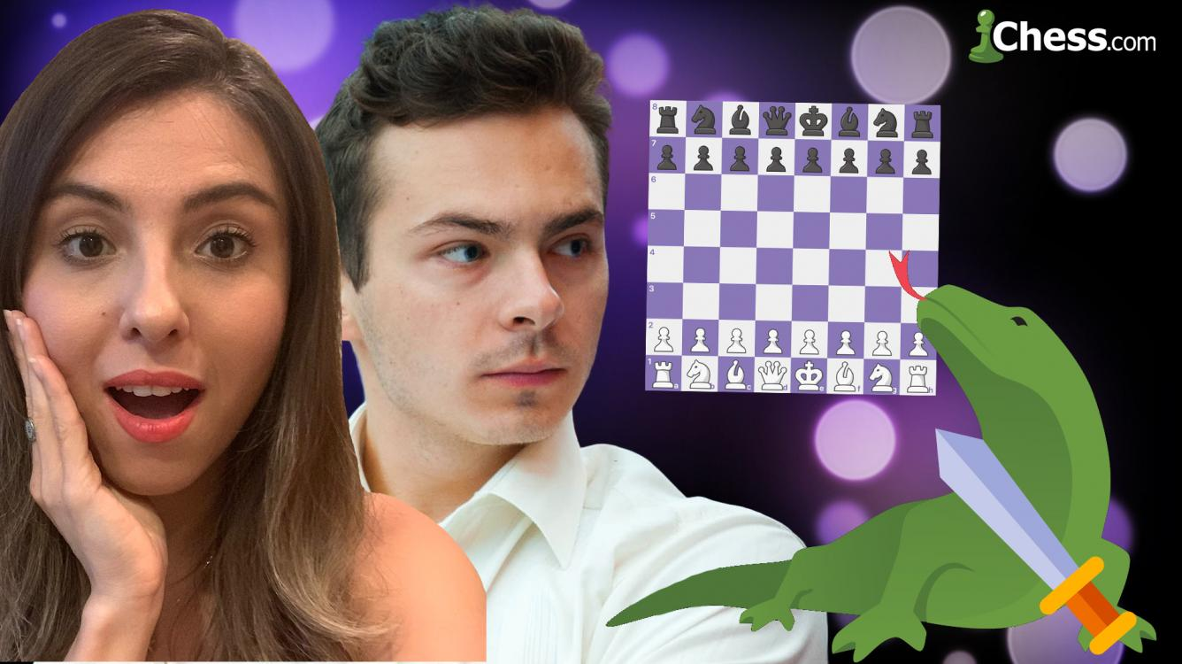 World Junior Chess Champion GM Alex Ipatov against Naycir's Viewers!