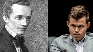 Two Bishops, Paulsen, Carlsen and a Wander Through Chess History. Plus a Challenge.