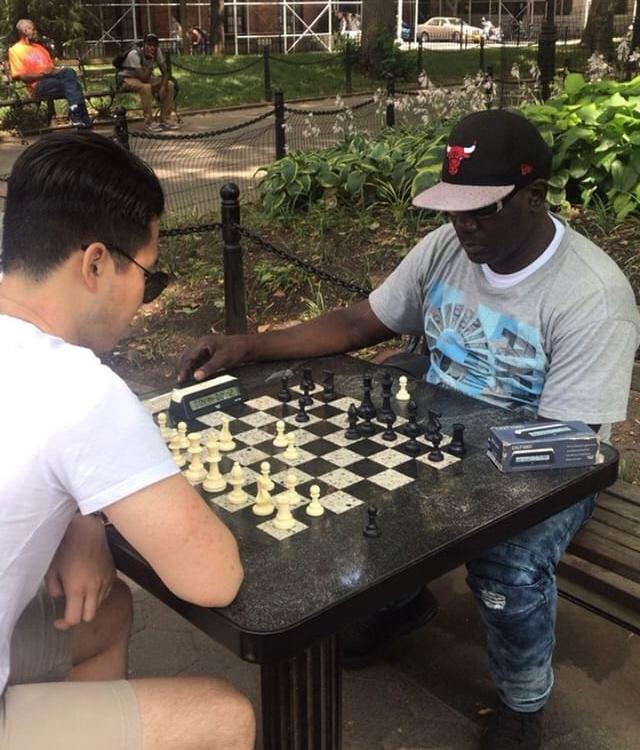 Hustling the NYC Chess Hustlers!! feat  Nh5 - Chess com