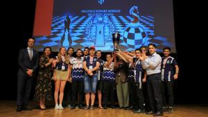 2019 Türkiye İş Bankası Satranç Süper Ligi'nde Şampiyon Tatvan Satranç Eğitimi Spor Kulübü!