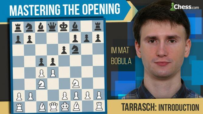 Learn to play Tarrasch Defense