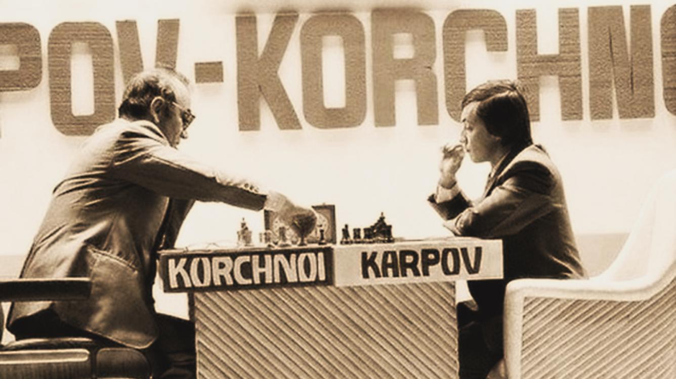 Karpov - Korchnoi 1978 chess championship match... some highlights