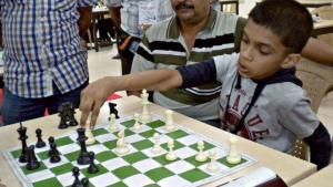 Chess is a passion for him