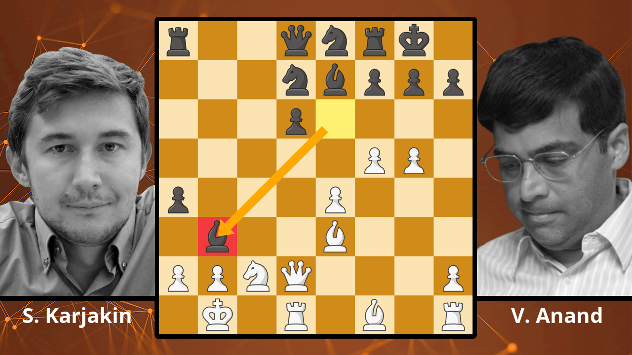 Anand Wins A Sicilian Brilliancy - Karjakin vs. Anand, 2006 - Best Chess Games
