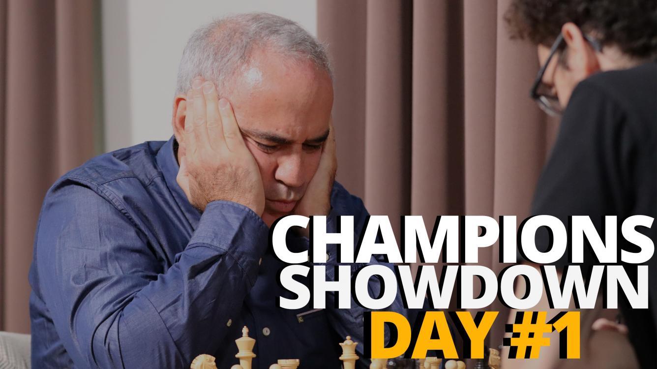 2019 Champions Showdown: Chess9LX Day #1    A Visual Blog Post