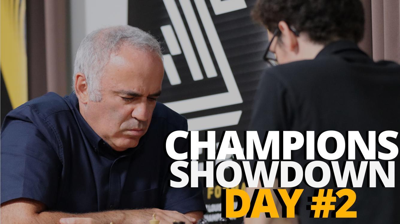 2019 Champions Showdown: Chess9LX Day #2 | A Visual Blog Post