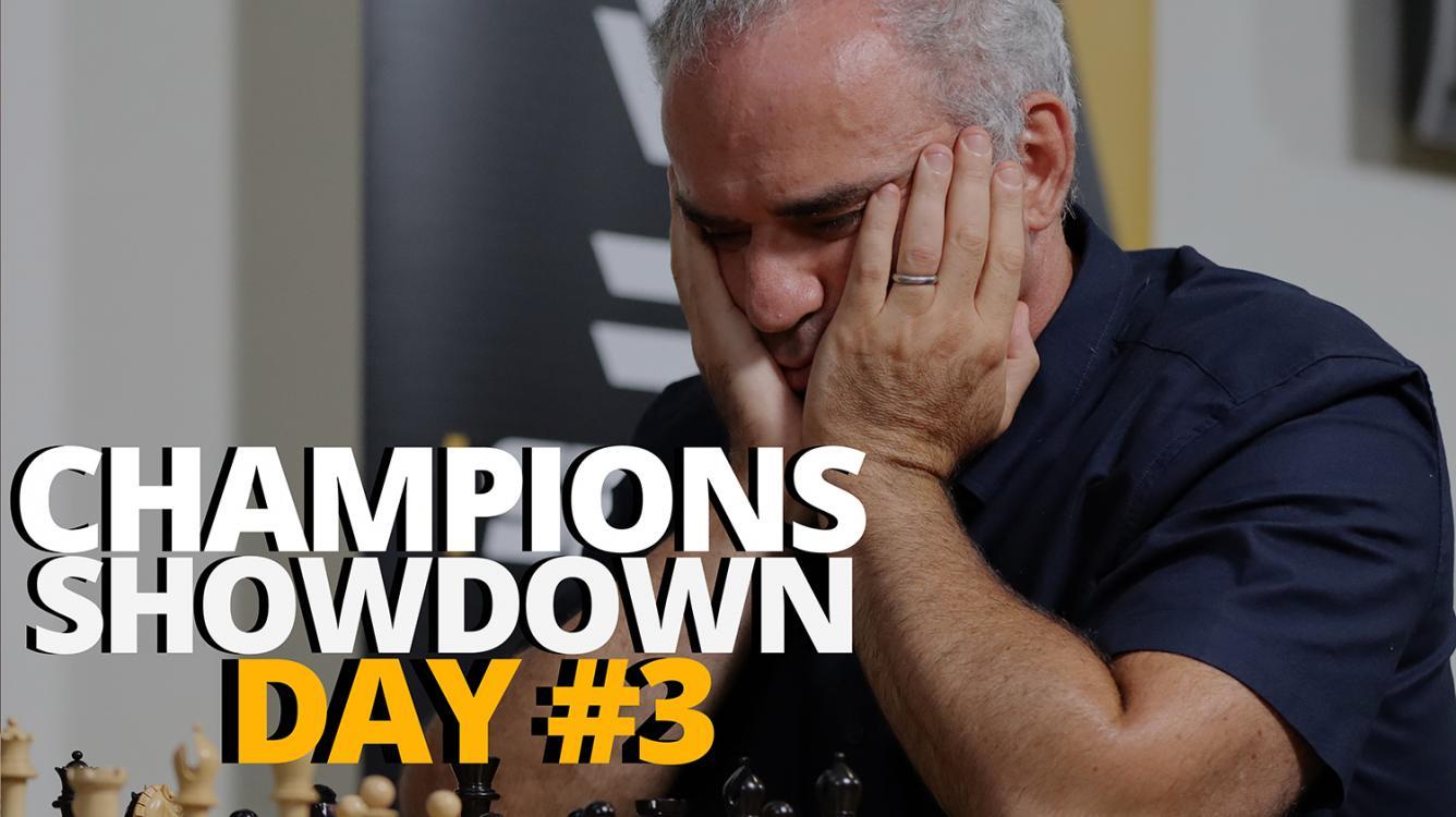 2019 Champions Showdown: Chess9LX Day #3 | A Visual Blog Post