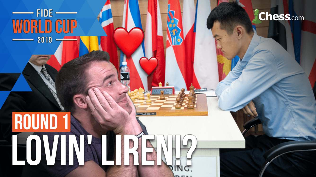 I Love Ding Liren's Chess: 2019 FIDE World Cup Round 1