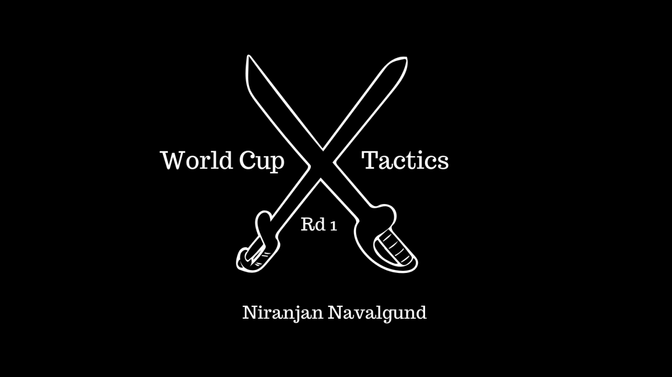Tactics at the World Cup : Rd 1