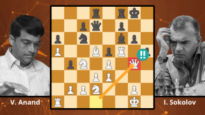 Anand's Almost Brilliancy! Anand vs. Sokolov, 1996