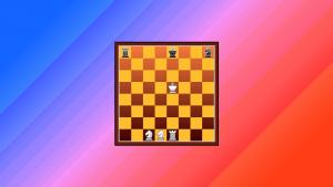 A heraldic endgame-tablebase composition