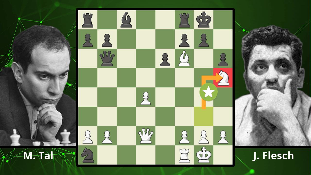 Mikhail Tal's Best Chess Game? - Tal vs. Flesch, 1981
