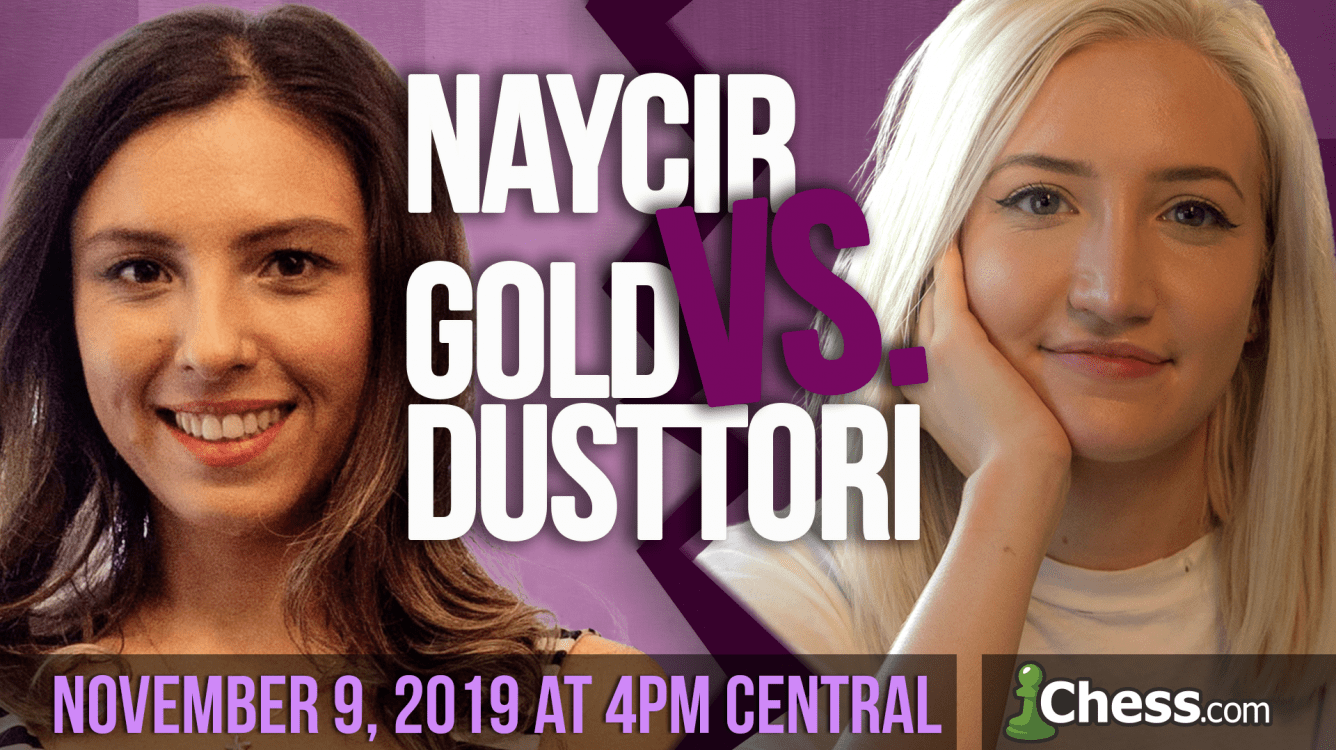 Epic Chess Battle Starts on November 9: Naycir vs. GoldDustTori