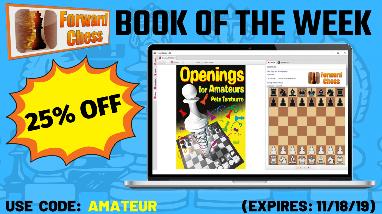 BOOK OF THE WEEK: Openings for Amateurs