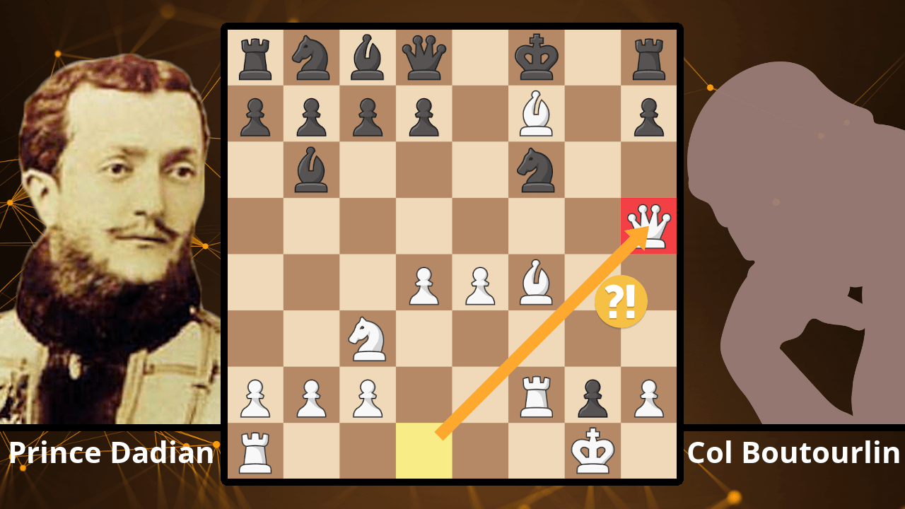 The Greatest Chess Scoundrel? - Prince Andrey Dadian of Mingrelia vs. Col. Boutourlin, 1883