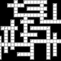 Welsh/Chess Crossword