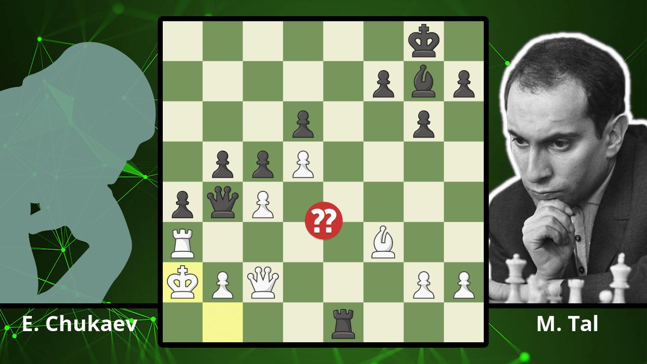 Mikhail Tal Inspires Magnus Carlsen's Greatest Chess Move - Chukaev vs. Tal, 1956