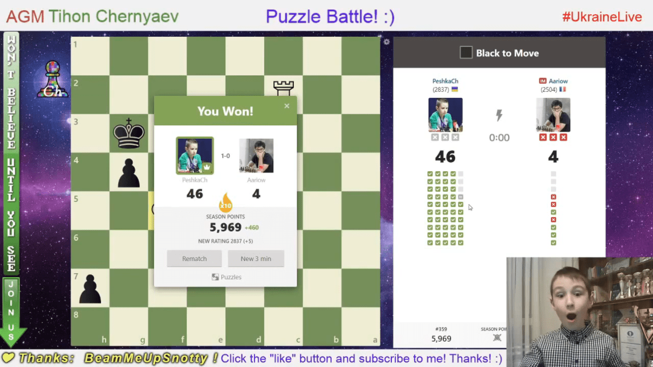 Wow!!! Clear result (46 Puzzles) in 3 minutes!!!