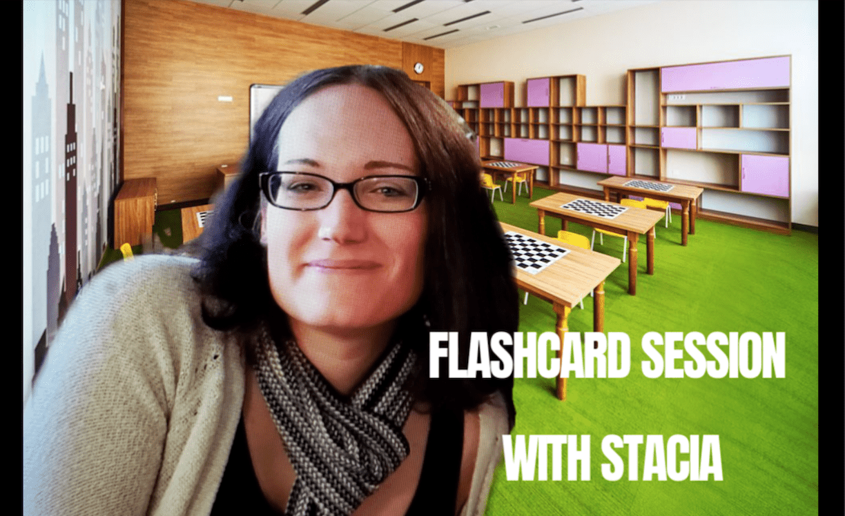 Winter Flashcard Session With Stacia