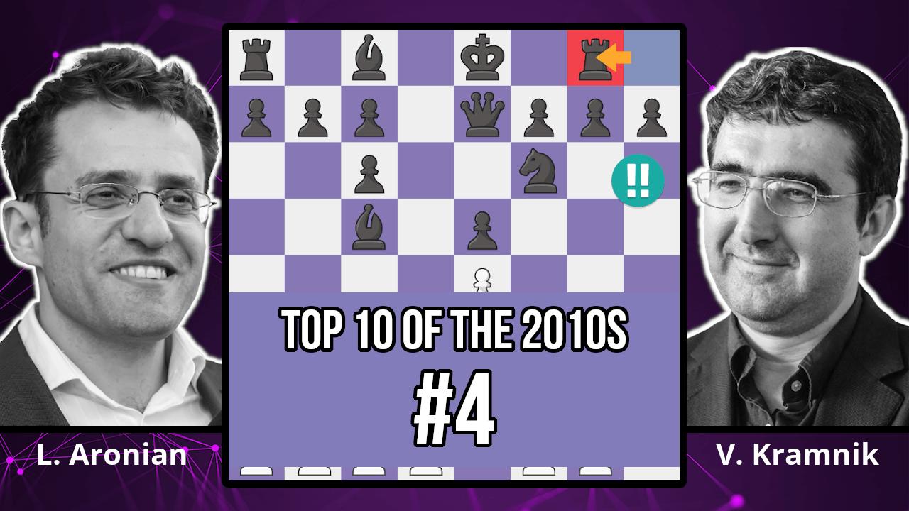 Vladmir Kramnik's No Castling Chess Attack - Top 10 of the 2010s - Aronian vs. Kramnik, 2018