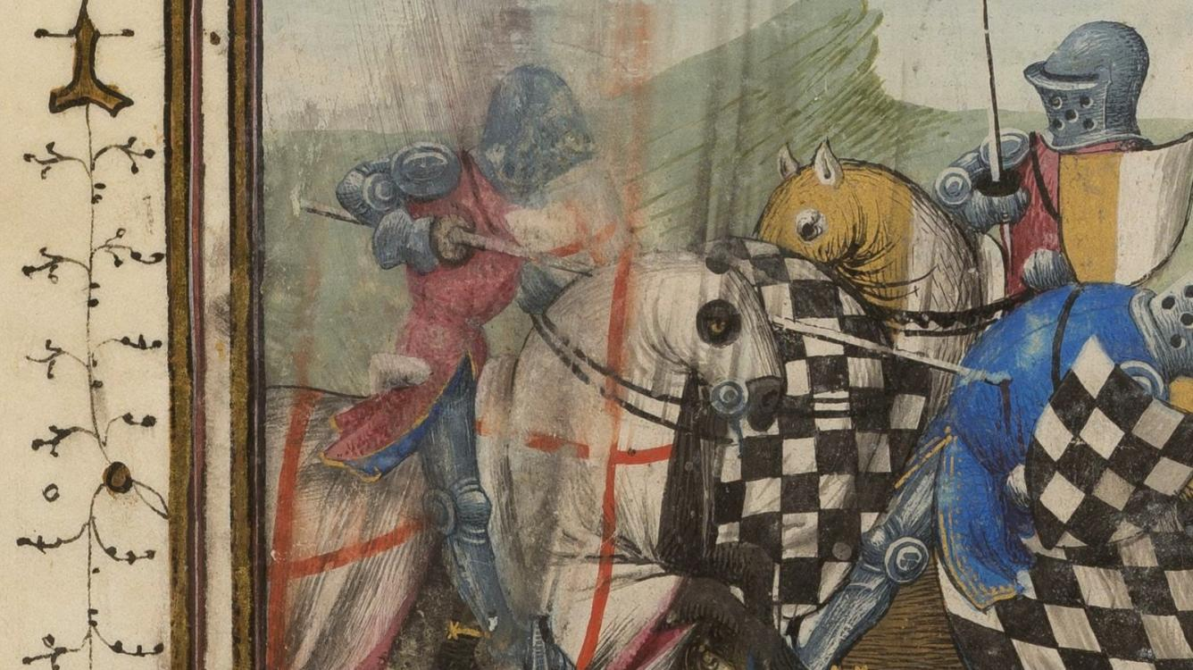 The chessboard of the Templar Knights... in Lombardy