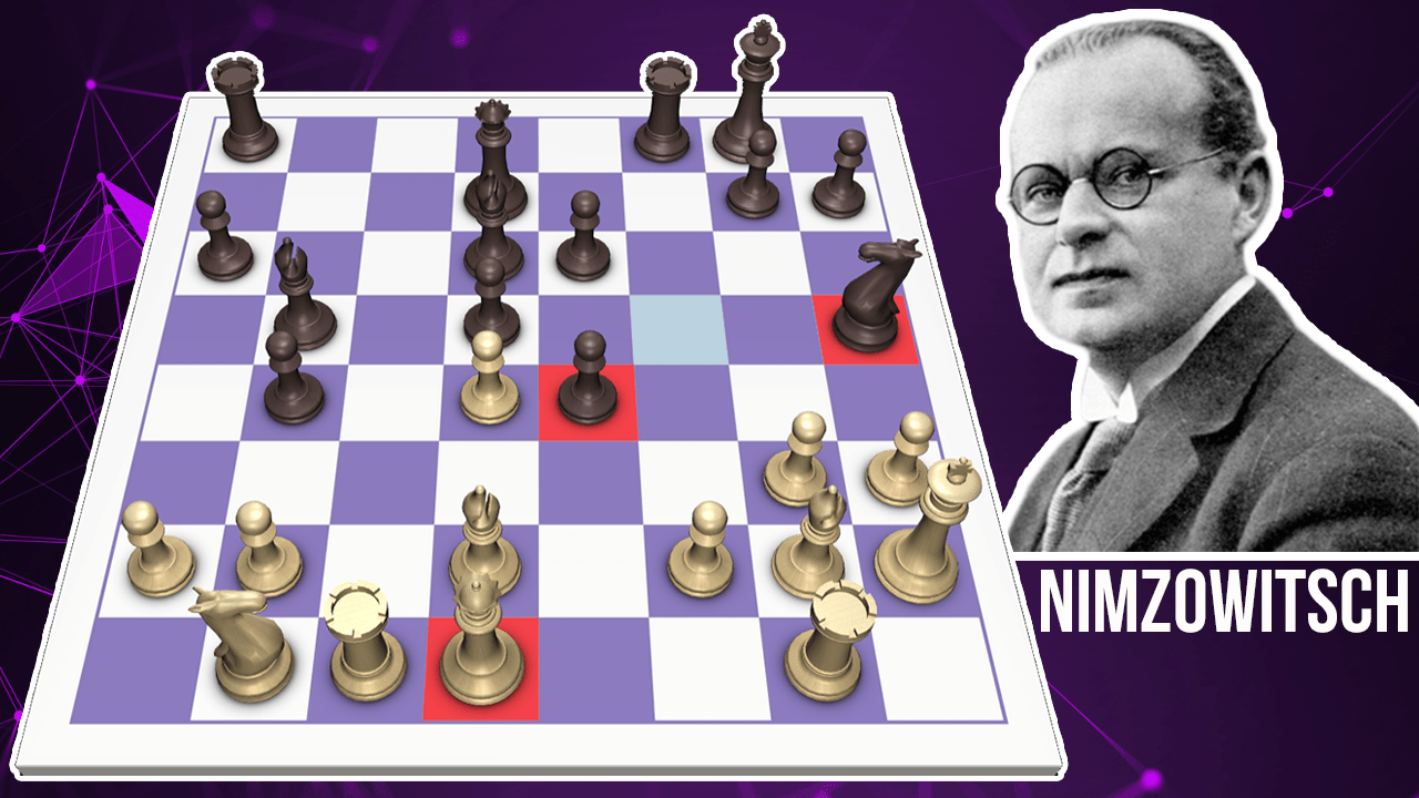 Nimzowitsch's Immortal Zugzwang Game - Every Chess Move Explained