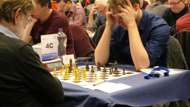 Day six at TATA Steel chess - I had to fight REALLY hard to draw this!