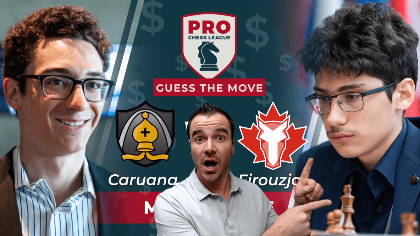 Fabiano Falls vs Firouzja: A PRO Chess League Brilliancy!