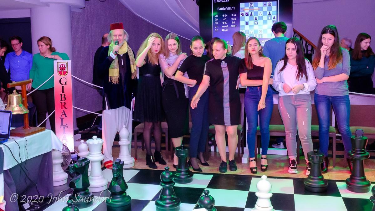 Anna Muzychuk's Great Gibraltar Game