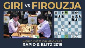 Blitz Archives: Giri vs Firouzja | 2019 FIDE World Rapid and Blitz
