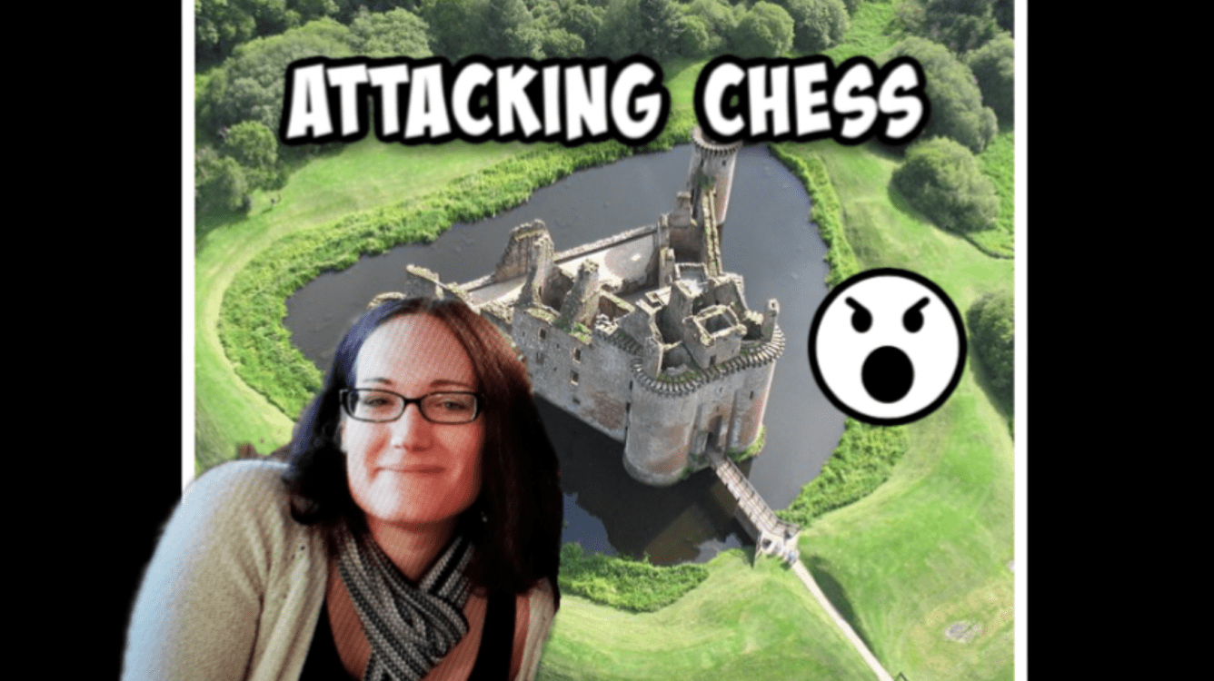 Attacking Chess!!  Knight & Bishop Orchestration