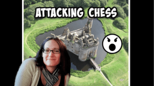 Attacking Chess!!  Queen in the Castle
