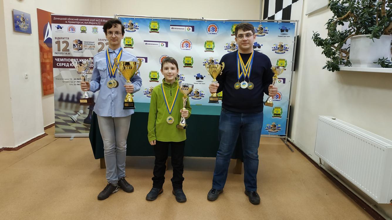 Tihon - 9 y.o. Champion of Ukraine in Blitz, boys age category - U20.