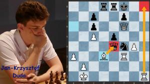 Duda vs Vidit: Nice game in Prague Chess Festival (+ Video)
