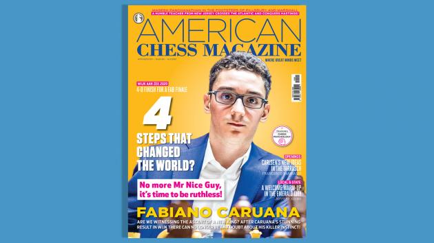 FABIANO CARUANA: 4 STEPS THAT CHANGED THE WORLD?
