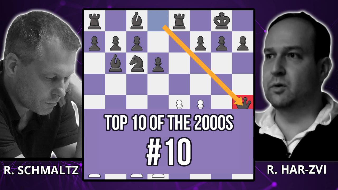 The Immortal Bullet Chess Game - Top 10 of the 2000s - Schmaltz vs. Har-Zvi, 2001