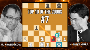 Nakamura Shocks GM With Queen Sacrifice - Top 10 of the 2000s - Krasenkow vs. Nakamura, 2007