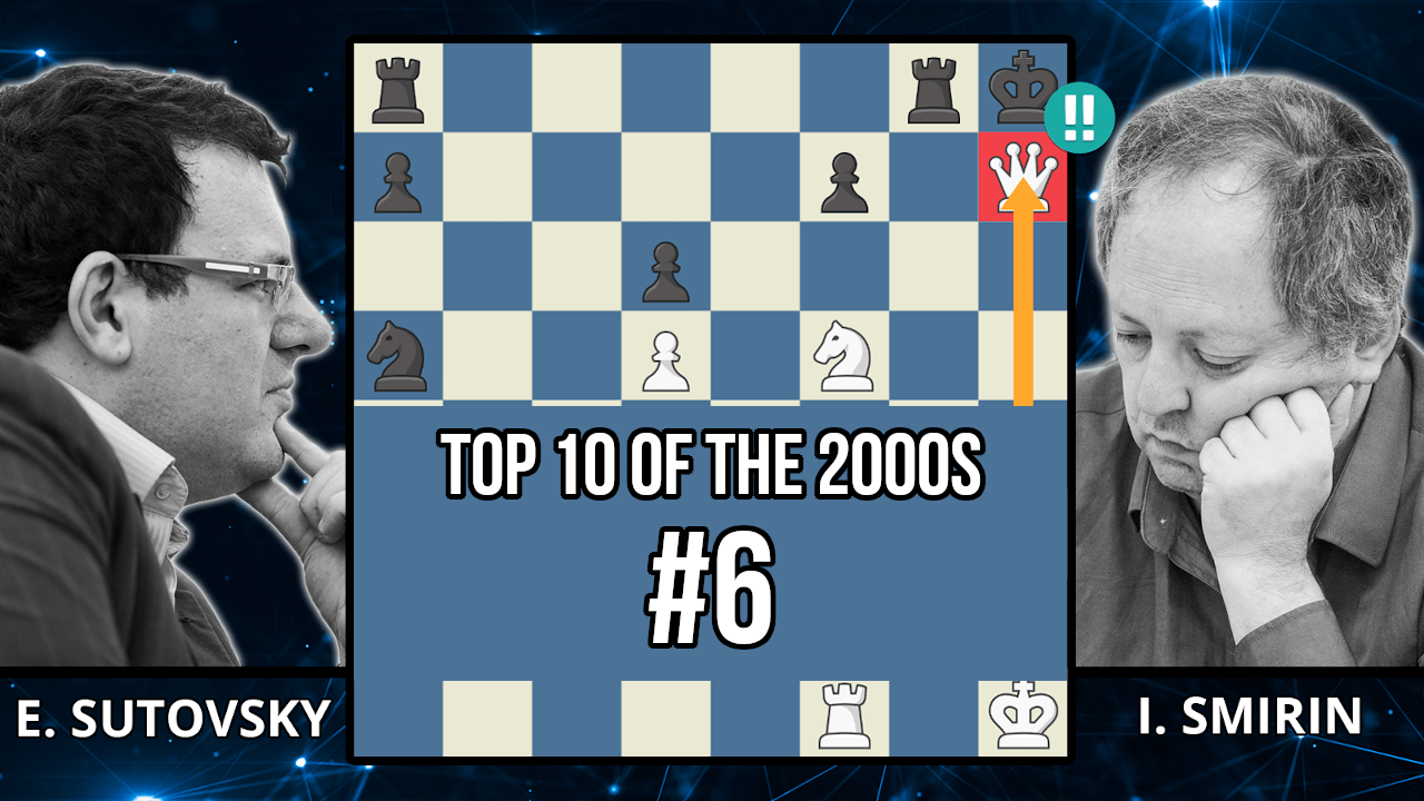 Sutovsky's Nf5 Dominates The Game - Top 10 of the 2000s - Sutovsky vs. Smirin, 2002