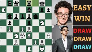How Fabiano Caruana wins Drawish Positions!