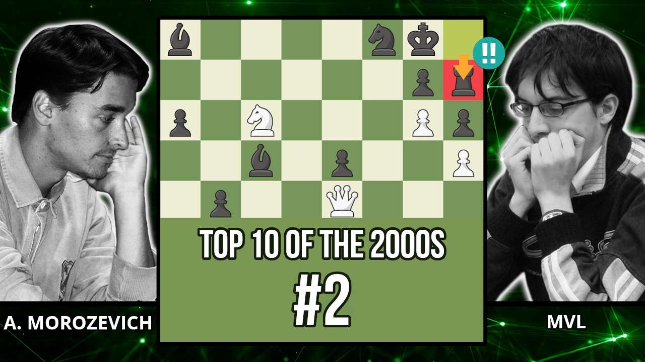 MVL's Zombie Rook Wins The Game - Top 10 of the 2000s - Morozevich vs. Vachier-Lagrave, 2009