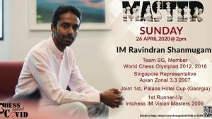 Chess against COVID in Singapore