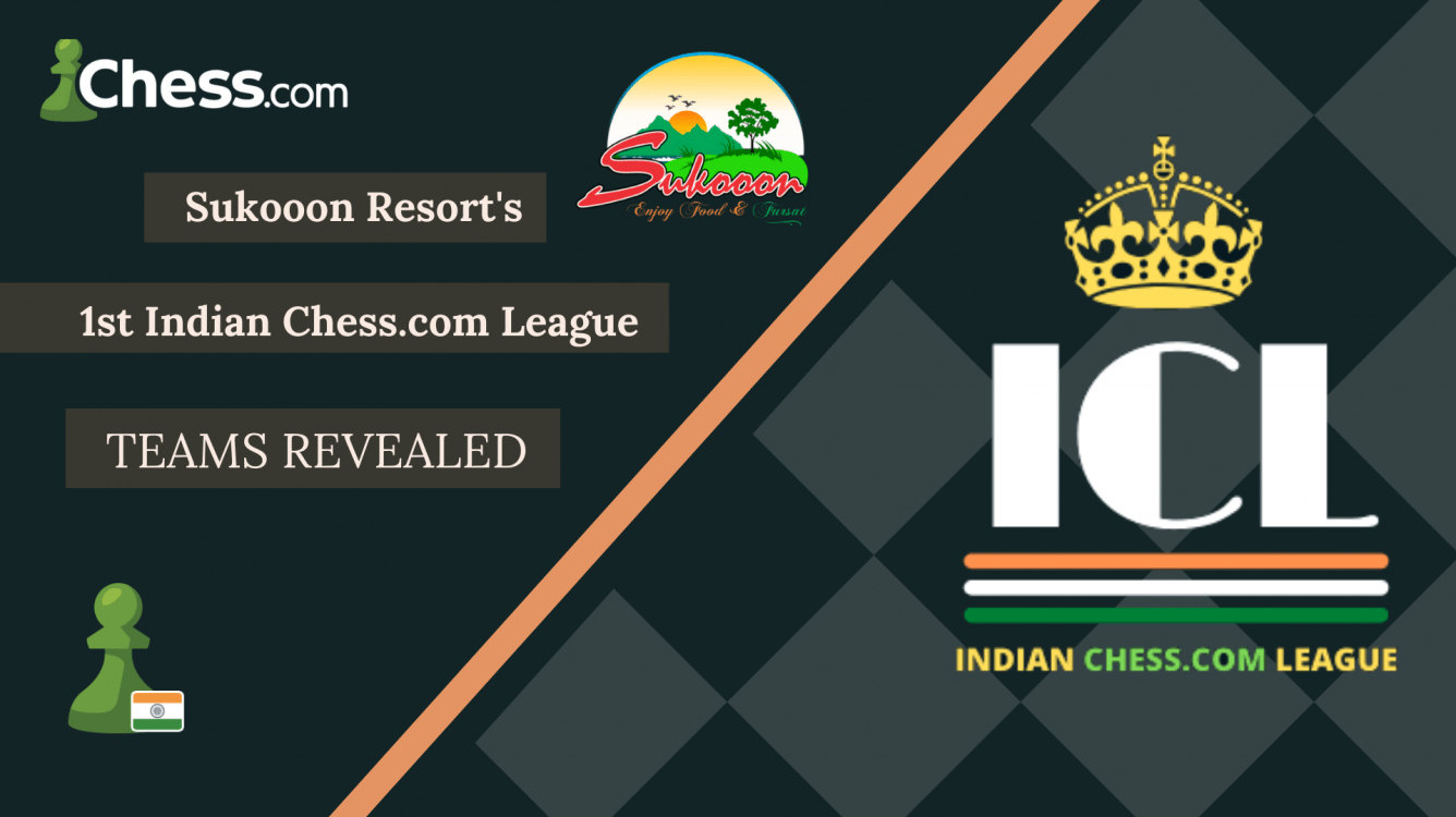 Teams Revealed for the 1st Indian Chess.com League