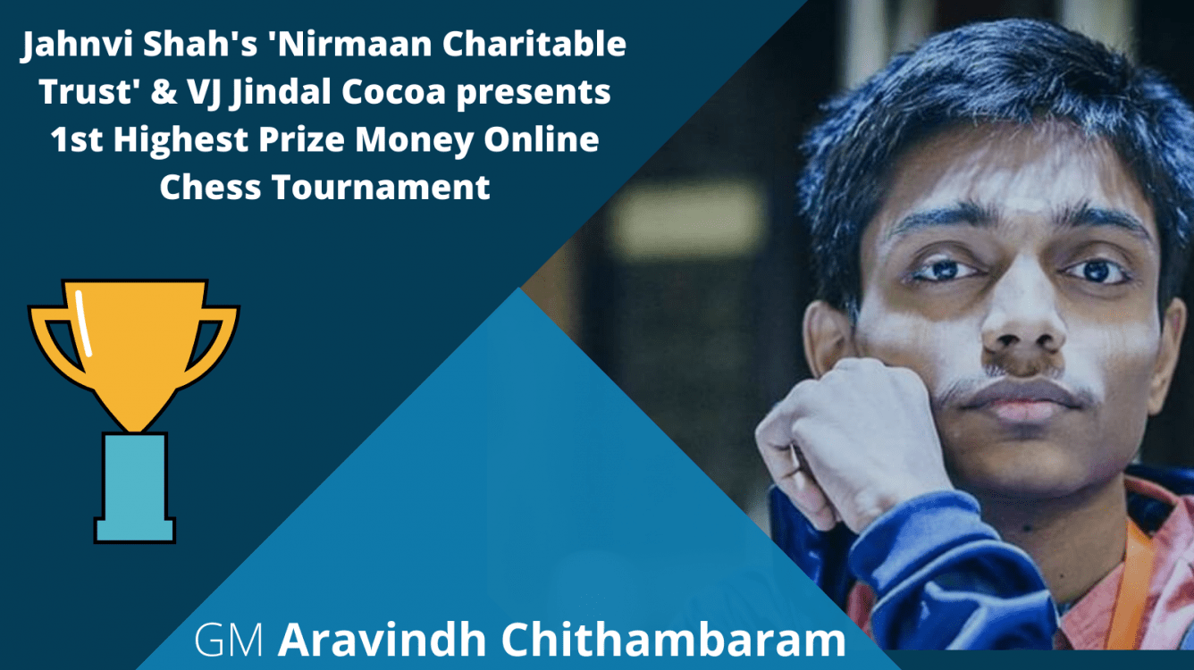 GM Aravindh Chithambaram Wins Chess Triumphs Over COVID-19 Event