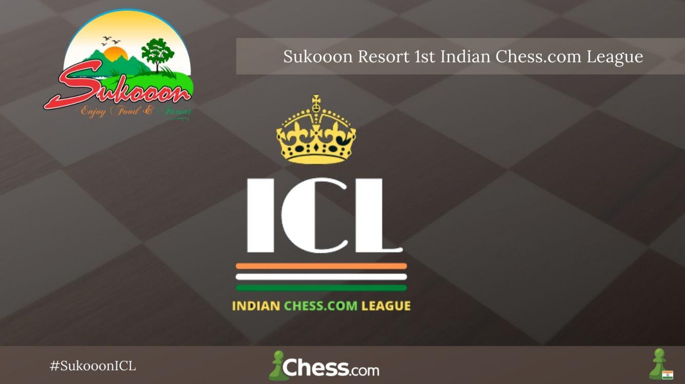 Sukooon Resort 1st Indian Chess.com League Starts On Friday